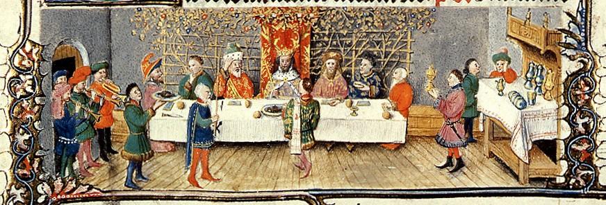 banchetto-medioevale